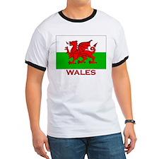 Wales Flag Gear T
