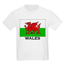 Wales Flag Merchandise Kids T-Shirt