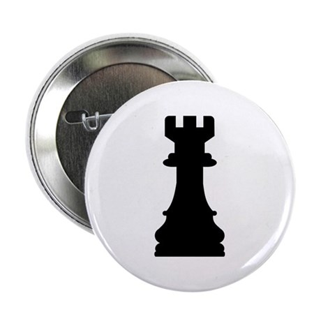 "Chess castle 2.25"" Button (100 pack)"