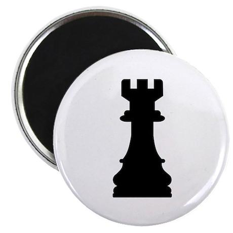 "Chess castle 2.25"" Magnet (10 pack)"