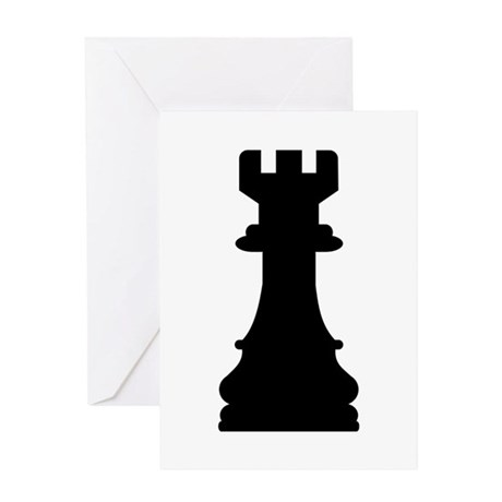 Chess castle Greeting Card
