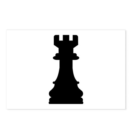 Chess castle Postcards (Package of 8)