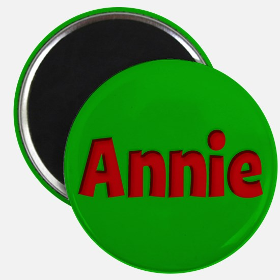 Annie Green and Red Magnet