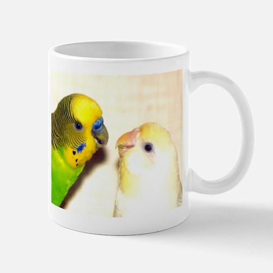 PARAKEETS LOOK OF LOVE Mug