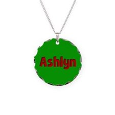 Ashlyn Green and Red Necklace