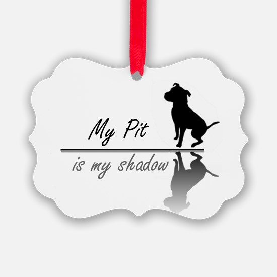 My Pit is my shadow.png Ornament