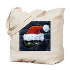Kitty Claws Secret Santa Tote Bag
