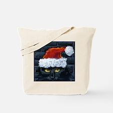 Kitty Claws Secret Santa Tote Bag