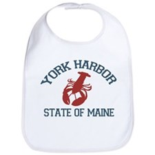York Harbor ME - Lobster Design. Bib