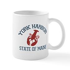 York Harbor ME - Lobster Design. Mug