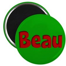 Beau Green and Red Magnet