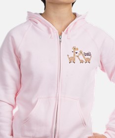 Cool Pretty in pink Zip Hoodie