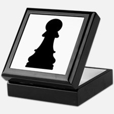 Chess pawn Keepsake Box