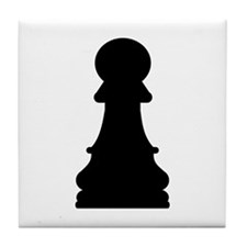 Chess pawn Tile Coaster