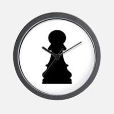 Chess pawn Wall Clock