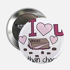 """More Than Chocolates 2.25"""" Button"""