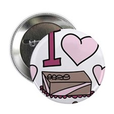 """Love Any Chocolate 2.25"""" Button"""