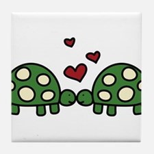 Love Turtles Tile Coaster