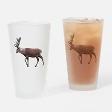 Deer Stag. Drinking Glass