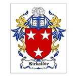 Kirkaldie Coat of Arms Small Poster