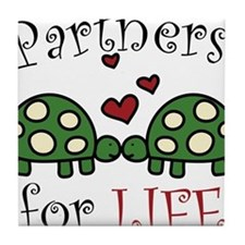 Partners For Life Tile Coaster