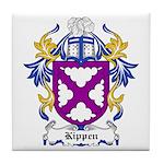 Kippen Coat of Arms Tile Coaster