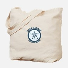 York Harbor ME - Sand Dollar Design. Tote Bag