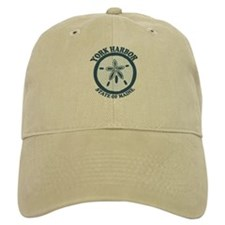 York Harbor ME - Sand Dollar Design. Baseball Cap