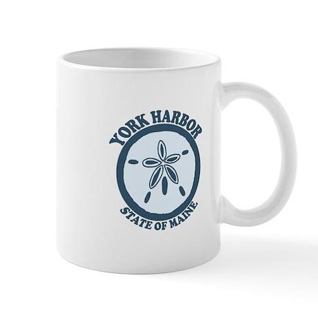 York Harbor ME - Sand Dollar Design. Mug
