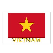 Vietnam Flag Stuff Postcards (Package of 8)