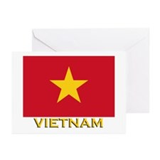 Vietnam Flag Stuff Greeting Cards (Pk of 10)
