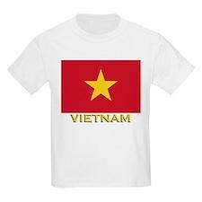 Vietnam Flag Stuff Kids T-Shirt