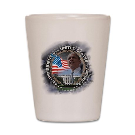 Obama Inauguration 01.21.13: Shot Glass