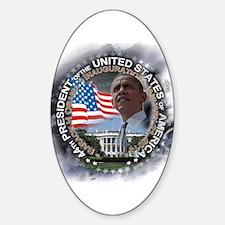 Obama Inauguration 01.21.13: Sticker (Oval)