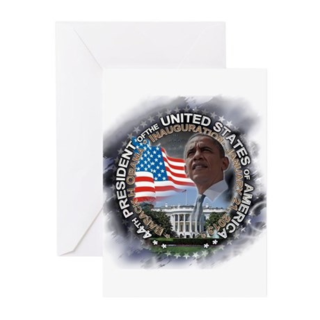 Obama Inauguration 01.21.13: Greeting Cards (Pk of