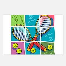Tennis Fun Postcards (Package of 8)