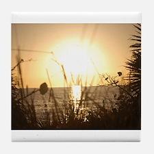 Sunset Venice Florida Tile Coaster