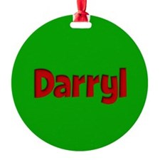 Darryl Green and Red Ornament