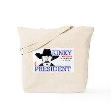 Kinky Friedman Tote Bag