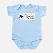 Dirt Fisher Unlimited Infant Bodysuit