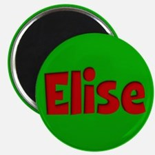 Elise Green and Red Magnet