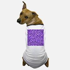 Purple Leopard Print. Dog T-Shirt