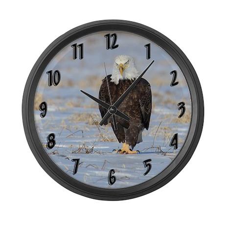 Mad Eagle Large Wall Clock