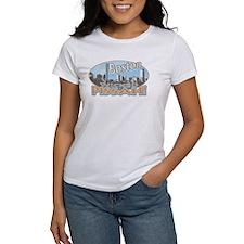 Boston Skyline Wicked Pissah Tee