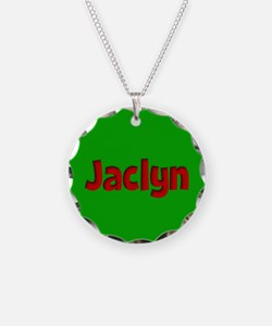 Jaclyn Green and Red Necklace