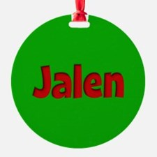 Jalen Green and Red Ornament