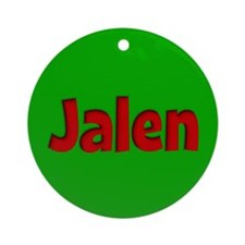 Jalen Green and Red Ornament (Round)