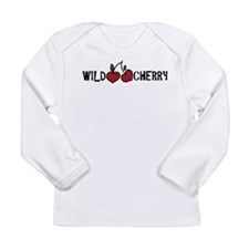 Wild Cherry Long Sleeve Infant T-Shirt