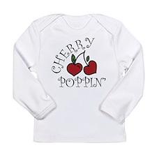 Cherry Poppin Long Sleeve Infant T-Shirt