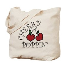 Cherry Poppin Tote Bag